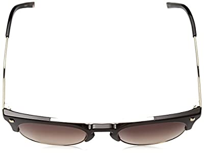 Calvin Klein Unisex Ck3199s Retro Round Sunglasses, Shiny Chocolate, 52 mm