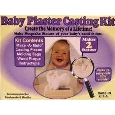 infant plaster casting kit - 8