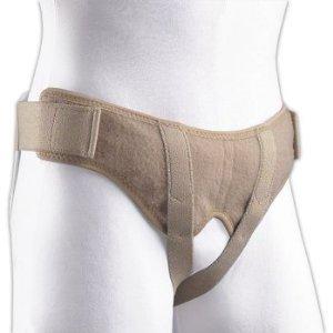 Large Soft Form - Florida Orthopedics Soft Form Hernia Belt, Large, Adjustable Without Metal Snaps or Buckles by FLA Orthopedics