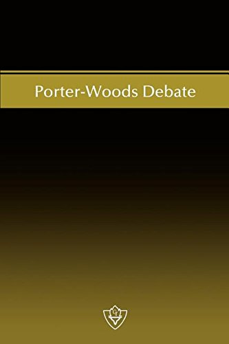 Download Porter-Woods Debate pdf epub