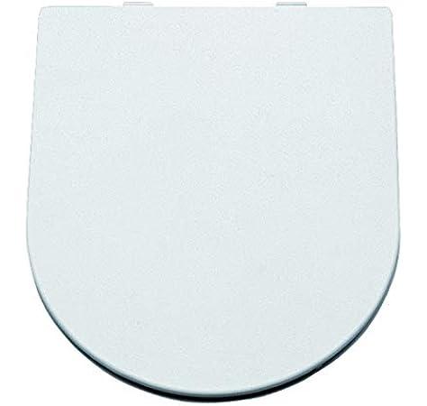 Acabado Blanco 39.5 x 5.4 x 47.5 cm Ref 515700 Gala G5157001 Tapa y Asiento Amortiguado para Inodoro Colecci/ón Universal