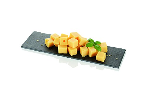 Boska Holland Slate Serving Cheese Board, Modern Cut Edge, 10