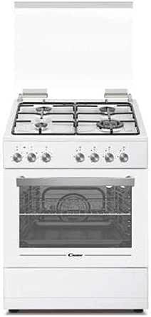 Candy CGE656MW/E – Cocina de gas con horno eléctrico 60 x ...