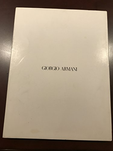 Giorgio Armani Spring-summer 1998 - Armani Collection Giorgio