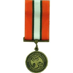 (Multinational Force and Observers MFO Medal - Mini)