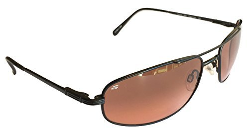 Serengeti Velocity Sunglasses, Drivers Gradient Lens w/ Silicon Gel Nose - Drivers Lens Sunglasses Serengeti