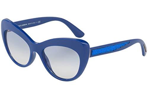 - Dolce & Gabbana DG6110 Sunglasses Blue w/Blue Gradient Lens 52mm 312219 DG 6110
