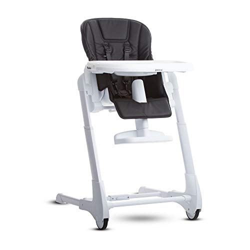 JOOVY Foodoo High Chair, Black - Fixed Seat Counter