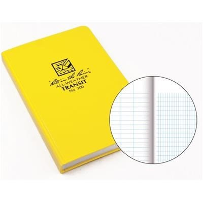 Rite in the Rain Transit Bound Notebook, 7-1/4'' x 4 5/8'', 156 Pages By Tabletop King by Tabletop King