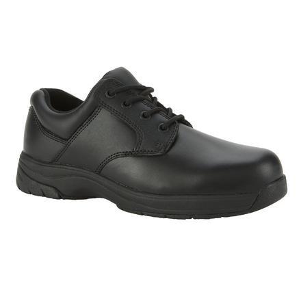 - Rocky Duty Men's Slip Stop Dress Oxford,Black,12 M
