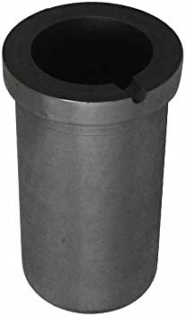 Dumadf Graphittiegel Laborbedarf Metallschmelzguss, zum Raffinieren von Gold-Silber-Kupfer-3kg-240ml