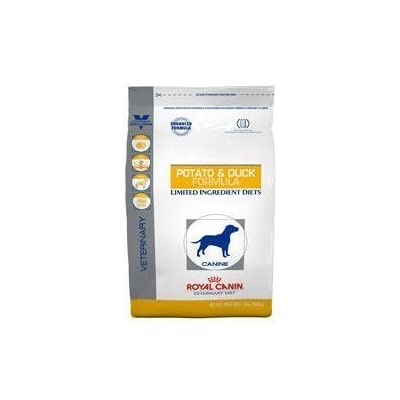 Royal Canin Veterinary Diet Canine Hypoallergenic Potato & Duck Dry Dog Food 7.7 lb bag by Royal Canin USA, Inc. [Pet Supplies]