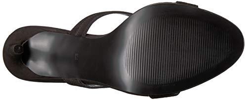 Steve Nubuck Us Women's Sandal Madden 5 Heeled 7 Black M Sidney Or5OqY