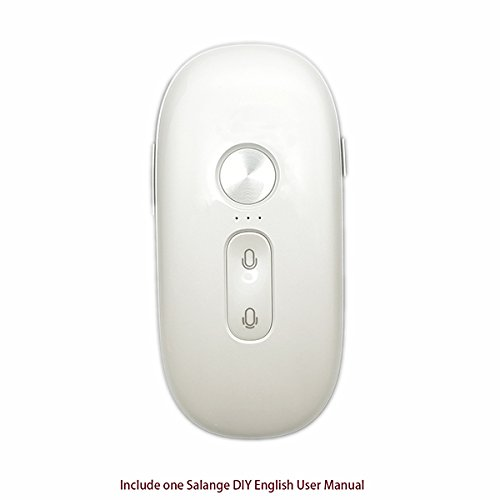 Salange Iflytek Electronic Pocket Voice Translator Chinese and English, Smart In Real Time Language Translator for Learning,Travel, Shopping,Business by Iflytek