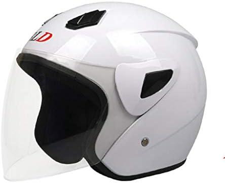 NJ ヘルメット- 電動自転車のバッテリーの車のヘルメットの男性と女性の四季のHD防曇のヘルメット (色 : シルバー しるば゜, サイズ さいず : 30x26cm)