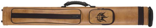 [McDermott Cue Case Wildfire Embossed 2B/2S] (2s Soft Pool Cue Case)