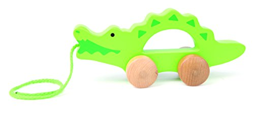 (Hape Wooden Toddler Push and Pull Walking Toy )
