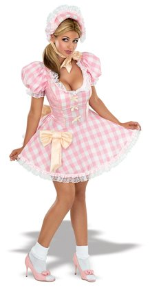 Bo Peep Costume - Small - Dress Size (Bo Peep Costume For Adults)