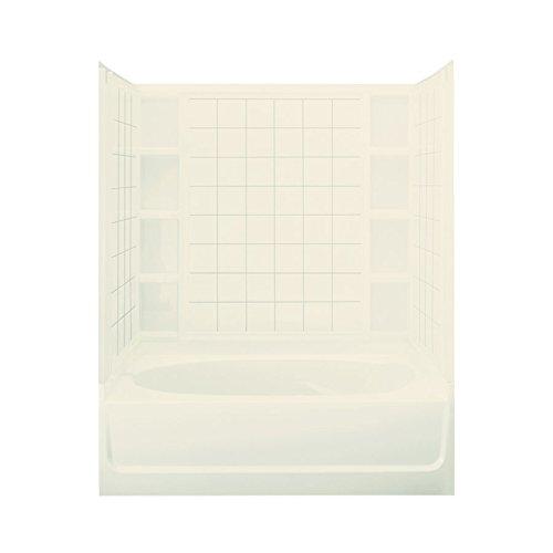 STERLING 71100129-96 Ensemble AFD Bath Tub and Shower Kit, 60-Inch x 36-Inch x 74.25-Inch, - Bathtub Afd