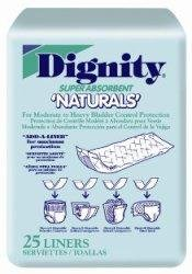 Dignity Super-Duty Pads, Dignity Naturals Pads, (1 CASE, 200 EACH)