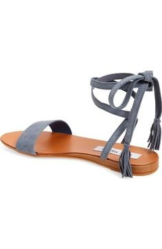 Steve Madden Women's Kapri Open Toe Sandals Blue 0CJcIA7WJ