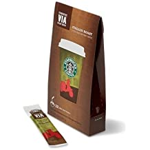 3 Box (36packets) Italian Roast Starbucks VIA Ready Brew Instant Coffee