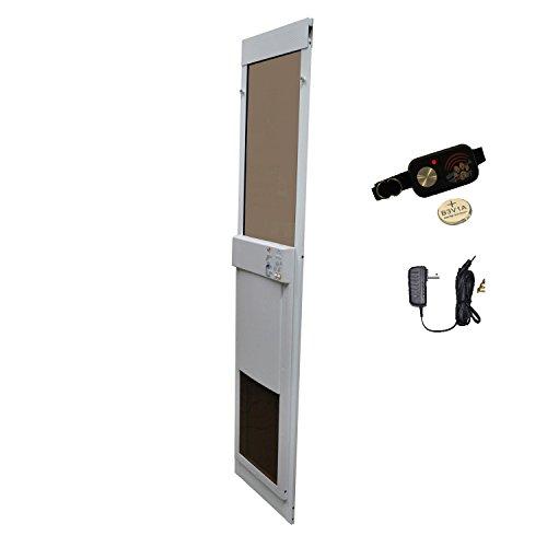 Large Power Pet Low-e Sliding Glass Dog Door Extra Tall