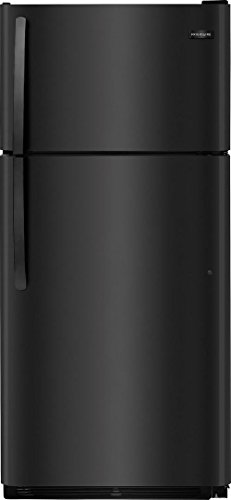 Frigidaire FFTR1814TB 30 Inch Freestanding Top Freezer Refrigerator with 18 cu. ft. Total Capacity, in Black