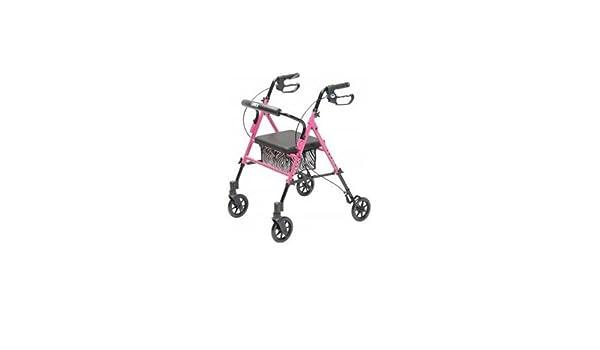 Graham-field salud rj4700p Set N Go HGT Adj andador rosa ...