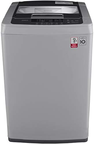 LG 7.0 Kg Inverter Fully Automatic Top Loading Washing Machine  T8069NEDLH, Middle free Silver