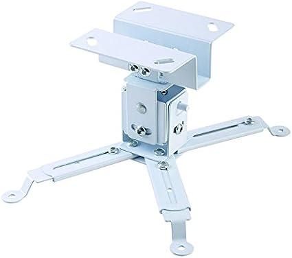 Iggual STP01 - Soporte Proyector Techo de Color Blanco para ...