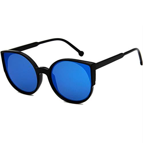 Vintage Round Cat Eye Sunglasses Women Eyeglasses Retro Female Coating Mirror Dr