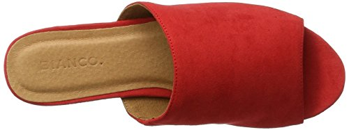 Bianco Trend Pantolette 21-49118, Mules Femme Rouge (Red 45)
