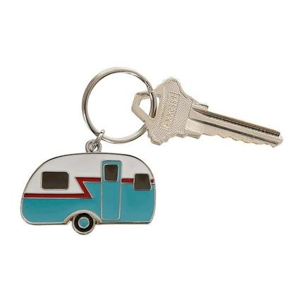 (Camping World - Retro Camper Keychain)