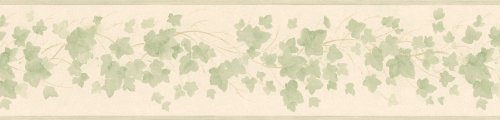 ders and More Playful Ivy Wall Border, 5.25-Inch by 180-Inch, Gold ()