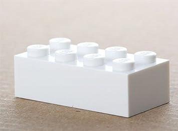 Lego 100x Weiße Basic Steine 2x4 3001 Neu Amazonde Spielzeug