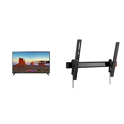 862991f06 LG 55UK6200PLA 55-Inch 4K UHD HDR Smart LED TV with Freeview Play (2018  Model) - Black with Vogel's Wall Mount: Amazon.co.uk: TV