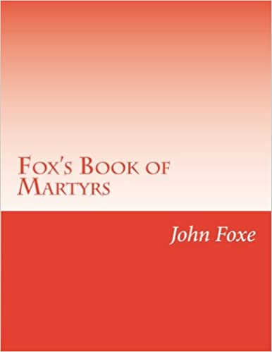 Book Fox's Book of Martyrs
