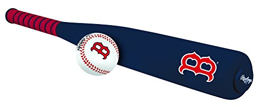 Rawlings MLB Foam Bat and Ball Set Boston Red Sox,One Size,Red