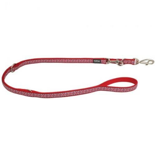 Red Dingo Union Jack multi-purpose dog leash 6,5ft Medium