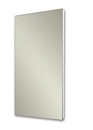Jensen 1035P24WHGX Polished Edge Mirror Medicine Cabinet, 16