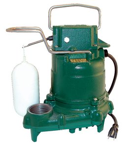 "Zoeller Submersible Pump 3/10 Hp 115 V 1-1/2 "" Plastic"