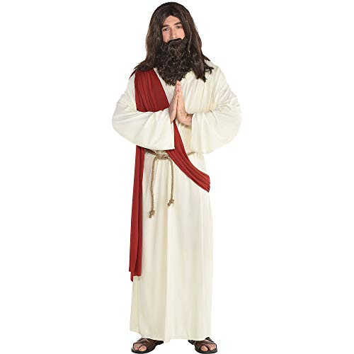 amscan Jesus Halloween Robe for Men, One Size]()