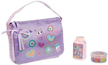 Distroller Neonate Nerlie Baby Diaper Bag Purple Ice Cream with Baby Powder and Bib - Edition in Spanish