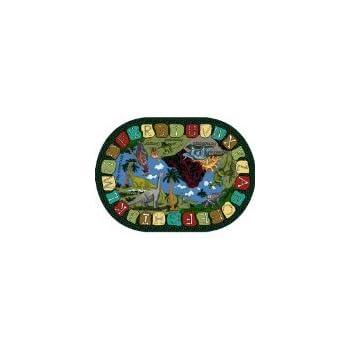 Amazon.com: Joy Alfombras We Dig Dinosaurios Kids Area Rug ...