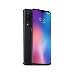 Xiaomi Mi 9 64GB + 6GB RAM – 48MP Ultra High Resolution Camera LTE Factory Unlocked GSM Smartphone (Global Version) (Piano Black)