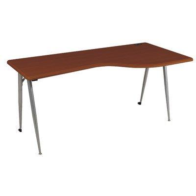 BALT 90000 iFlex Series Full Table, 65w x 31d x 29h, Cherry/Silver