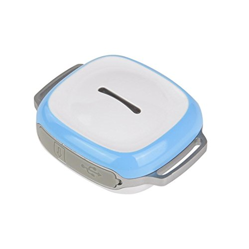 Aribelly PET Dog Cat GPS Tracker Locator GPS Pet Tracker Mini GPS Tracker for Small ()