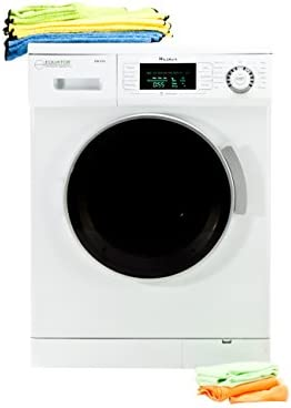 Pinnacle 18-820/W White Compact Electric Washer with Silver Trim