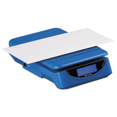 PS25 25 lb Electronic Postal Shipping Scale, Blue, Sold as 1 Each